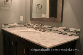 Bathroom Vanity Backsplash by Perfect Bathroom Vanity Backsplash Ideas On Bathroom Tile