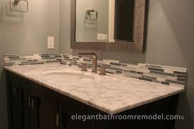 Perfect Bathroom Vanity Backsplash Ideas On Bathroom Tile - Bathroom vanity backsplash ideas