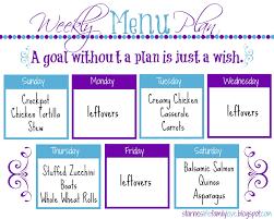 life family love menu plan week of 01 04 15