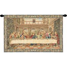 Wall Rugs Hanging Buy The Last Supper Iiii European Wall Hangings At Tapestries