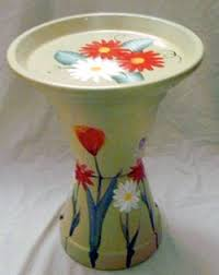 Flower Pot Bird Bath - you will have endless pleasure watching the birds preening and