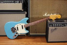 vintage fender mustang automotive themed guitars and basses ranked