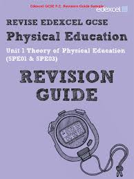 edexcel gcse p e physical education revision guide u0026 workbook