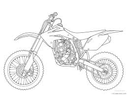 yamaha dirt bike coloring pages coloring4free coloring4free com