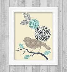 free printable bird wall art geometric circle mandala medallion pattern printable wall art set of