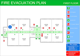 evacuation floor plan template fire evacuation plans original cad solutions