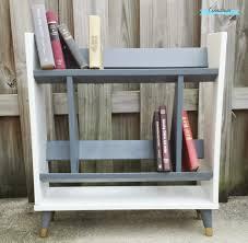 White Modern Bookcase by Shades Of Gray Part 2 The Retro Modern Bookcase Anastasia Vintage