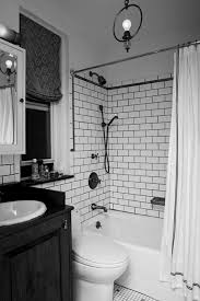 monochrome bathroom ideas tagged black and white subway tile bathroom ideas archives design