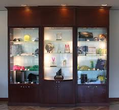 merchandise display case chimes store