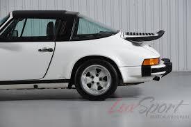 porsche targa white classic 1989 porsche 911 carrera 3 2 targa white black g50 20 000