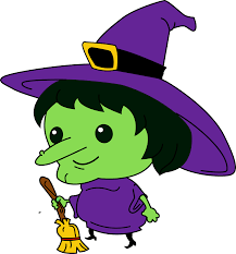 Happy Halloween Witch Clipart Clipartxtras