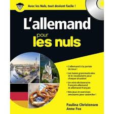 vocabulaire cuisine allemand pour les nuls livre avec un cd audio l allemand pour les nuls