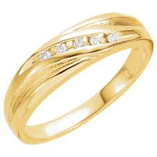 10 karat diamond ring men s 5 1 10 carat diamond ring 14k yellow gold