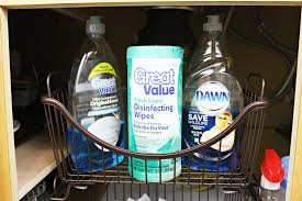 Under Kitchen Sink Organizer by Under The Kitchen Sink Organization