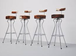 Office Bar Stool Chair Bar Stools Cowhide Swivel Bar Stools Modern Faux Stool Dining