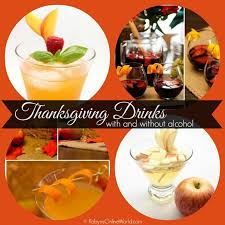 thanksgiving drink recipes for and adults robyns world