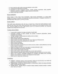 resume objectives exles generalizations restaurant manager cover letter unique public health resume
