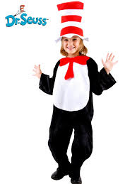 kids cat in the hat costume girls dr seuss costumes