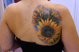 150 vibrant sunflower tattoos and meanings 2017 collection part 9