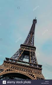 eiffel tower the most famous symbol of paris was built and