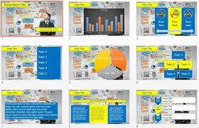 business power point template modern business plan powerpoint