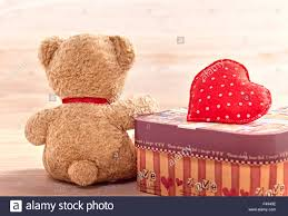 valentines day teddy valentines day teddy loving alone waiting for stock