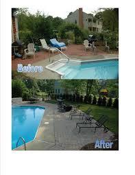 pool patio pavers picture perfect landscape