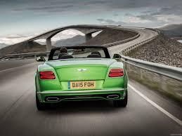 green bentley convertible 2016 bentley continental gt speed convertible apple green rear