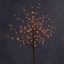 100cm konstsmide 3360 006 micro bulb brown outdoor twig christmas