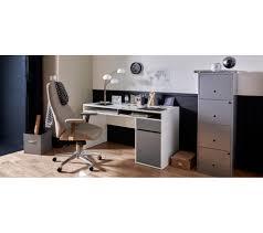 bureau blanc et gris bureau blanc gris