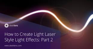 Photoshop Light Effects How To Create Light Laser Style Light Effects In Adobe Photoshop