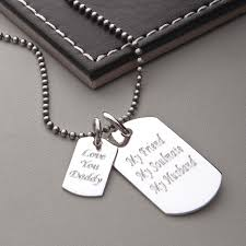 sterling silver tag necklace images Men 39 s sterling silver double dog tag necklace hurleyburley jpg