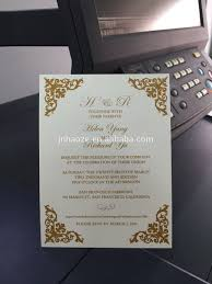 Printing Invitation Cards Laser Cut Wedding Cards Event And Party Supplies Pocket Wedding