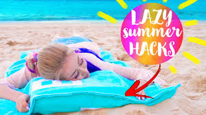 Diy Hacks Youtube by 10 Diy Summer Life Hacks Every Lazy Person Should Know Youtube