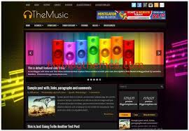 music dj myblogthemes