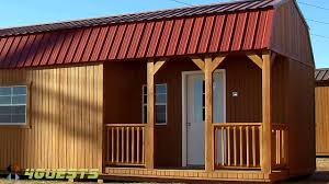 tiny homes u0026 portable buildings by graceland youtube