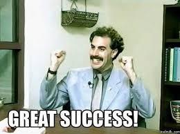 Borat Meme - complete guide to content remarketing werk it pinterest borat