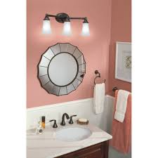 3 Fixture Bathroom by Moen Yb2863ch Eva Chrome Bathroom Lighting Lighting Efaucets Com