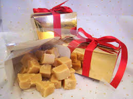 fudge gift boxes the chocolate house butter fudge gift wrapped in a gold box