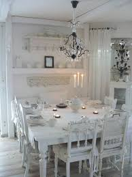 Shabby Chic White Chandelier 35 Beautiful Shabby Chic Dining Room Decoration Ideas Listing More