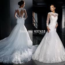mermaid long sleeve wedding dress biwmagazine com