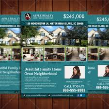Real Estate Poster Template by Featured Listing Property Design Template U2013 Real Estate Lead Generator