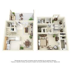 one bedroom townhomes north woods charlottesville apartments floor plans ratesnorth