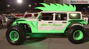 sema jeep yj fab fours jeep wrangler 2 whoa sema ignited 2015 youtube