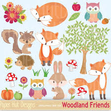 squirrel wrapping paper woodland animal clipart winter woodland animals tree clipart fox