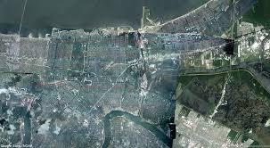 New Orleans Katrina Flood Map by Hurricane Katrina August 23 31 2005 New Orleans Flooding