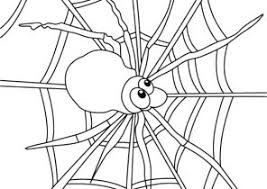 Spider Coloring Pages Coloring4free Com Web Coloring Pages