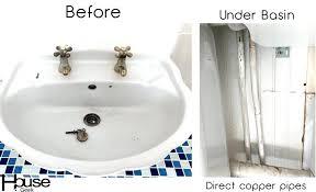 replacing bathroom sink faucet replace bathroom faucet bathroom sink faucet before picture replace