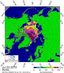 Iup Map July 2012 Arctic Sea Ice News And Analysis