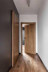 Dark Grey Accent Wall by This Apartment U0027s Palette Is Full Of Greys Black And Wood Wood